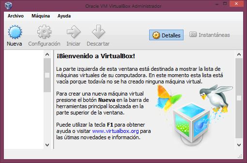 VIRTUALBOX TÉLÉCHARGER 5.0.2 VM ORACLE